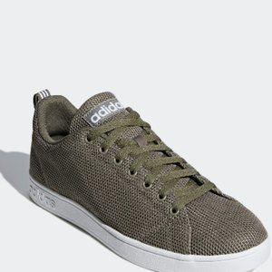 Adidas VS Advantage Clean Shoes Green Size…